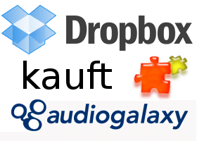 Dropbox kauft Audiogalaxy