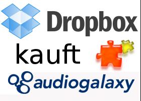 Dropbox kauft Audiogalaxy