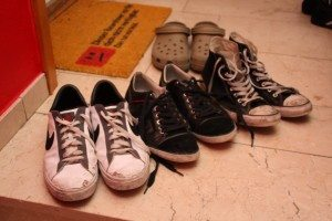 Meine Schuhe-Nikes-Crocs-Hilfiger-Chucks