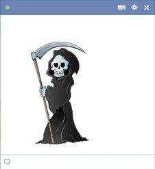 facebook-death-emoticon-with-sickle