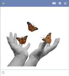 hands-releasing-butterflies-emoticon