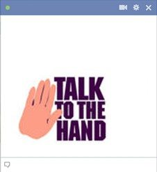 talk-to-the-hand-emoticon-for-facebook