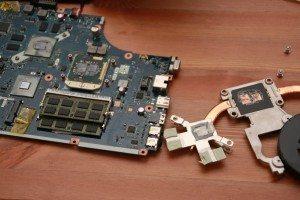 Acer-Aspire-5742G-Mainboard-Luefter-entfernt