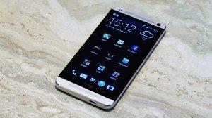 HTC One Vorderseite