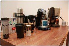 Meine Kaffee Utensilien
