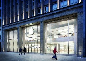 Apple Store in Hamburg