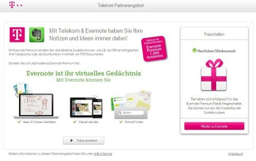 evernote-telekom-12monate-premium