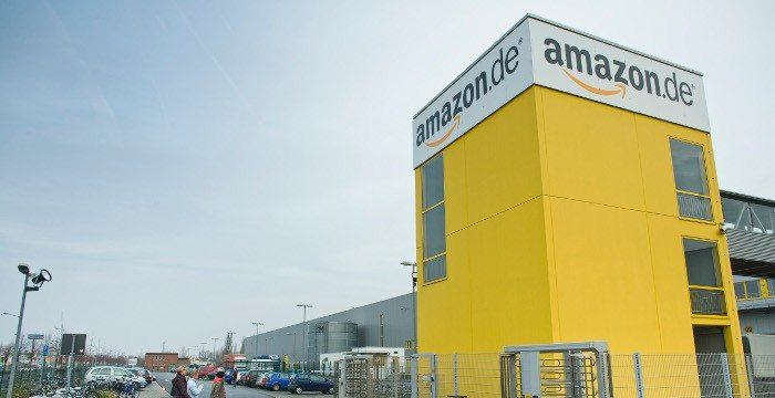 Amazon Logistikzentrum Aufmacher