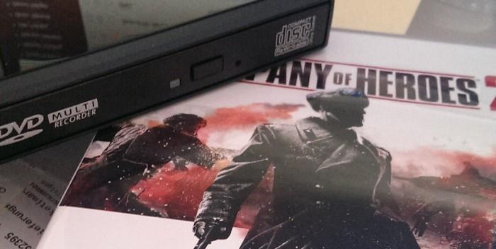 Von DVD statt von Steam Company of Heroes installieren