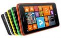 Foto vom Nokia Lumia 625 in den Farben grün, rot, grau, gelb und schwarz