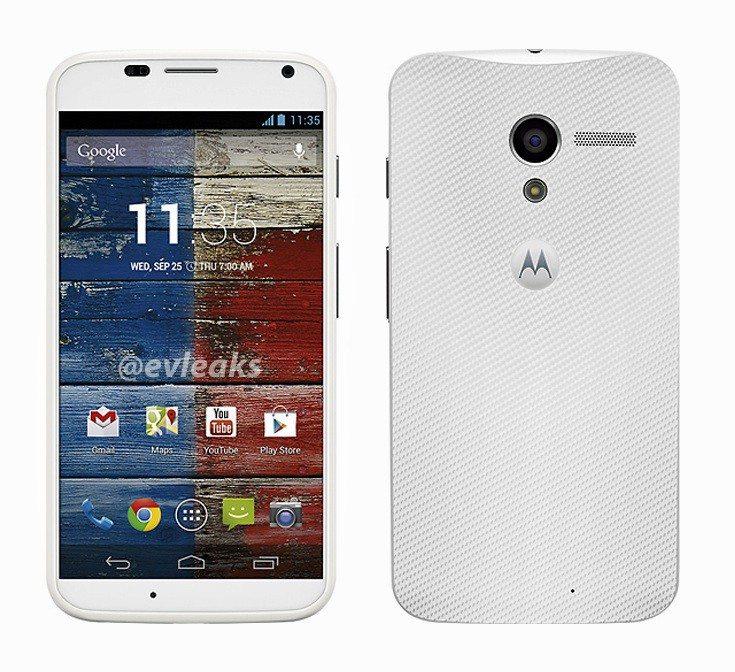 Motorola Moto X Smartphone in weiß