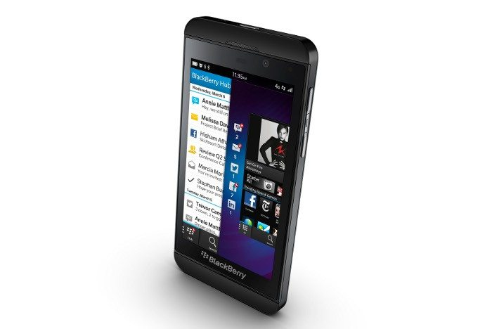Blackberry Z10 Aufmacher