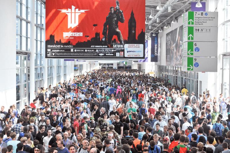 Gamescom 2013 Besucher