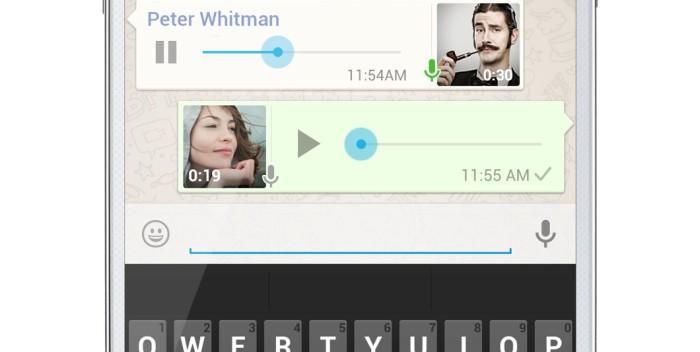 WhatsApp Sprachnachrichten verschicken