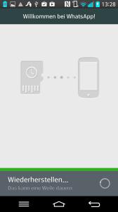 WhatsApp-wiederherstellen-im-Gange