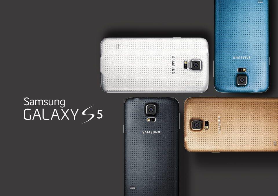 Alle Farben des Samsung Galaxy S5