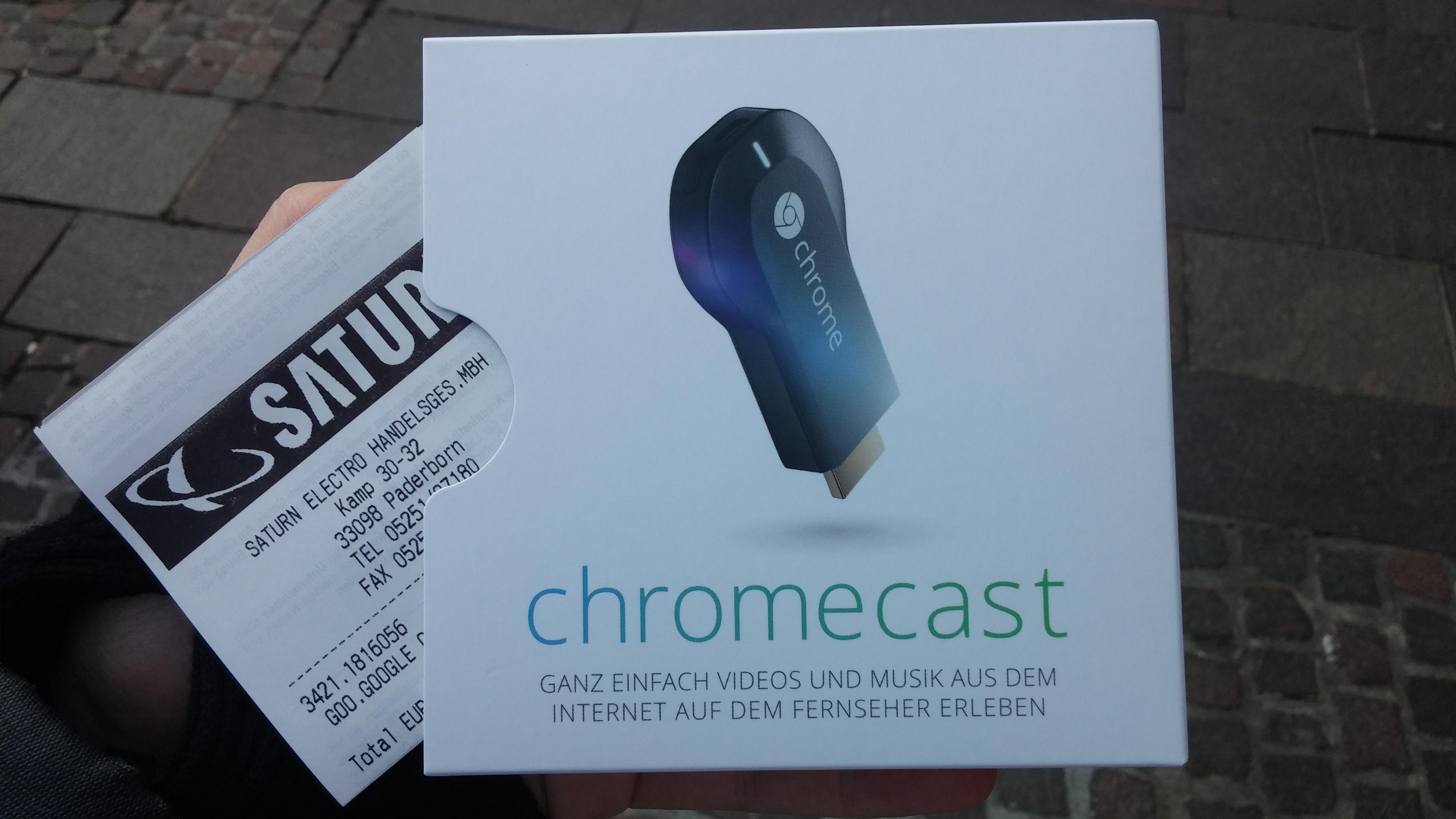 Google Chromecast jetzt in Deutschland erhältlich