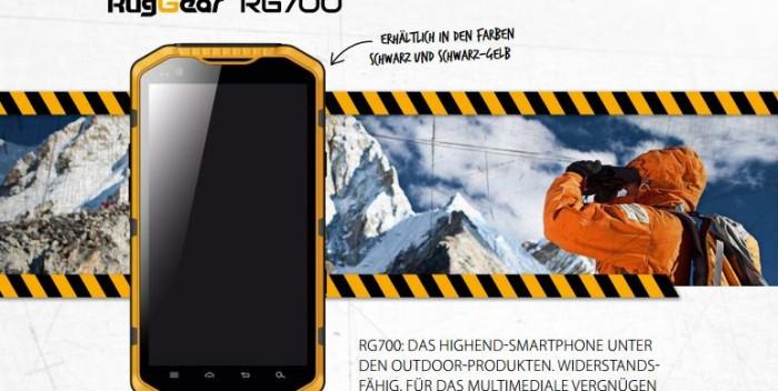 RugGear RG700