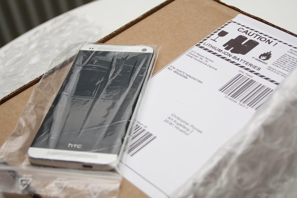 HTC One M7 Akkutausch auf Garantie