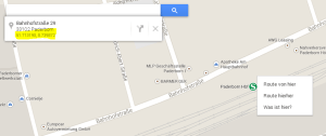 google-koordinaten-maps-rauskriegen