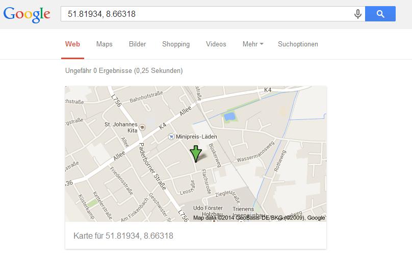 google-koordinaten-maps