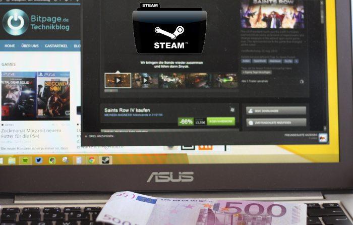 Steam-Sale: Kaufen, aber niemals spielen.