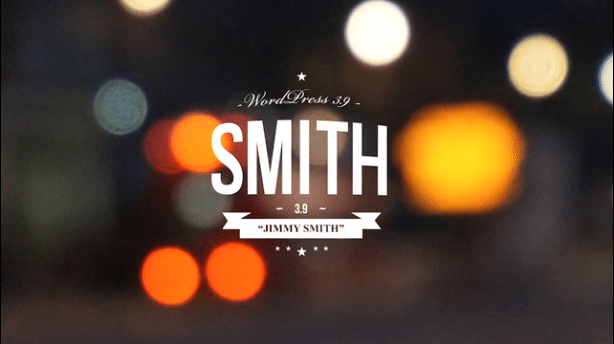 Wordpress Version 3.9 Jimmy Smith