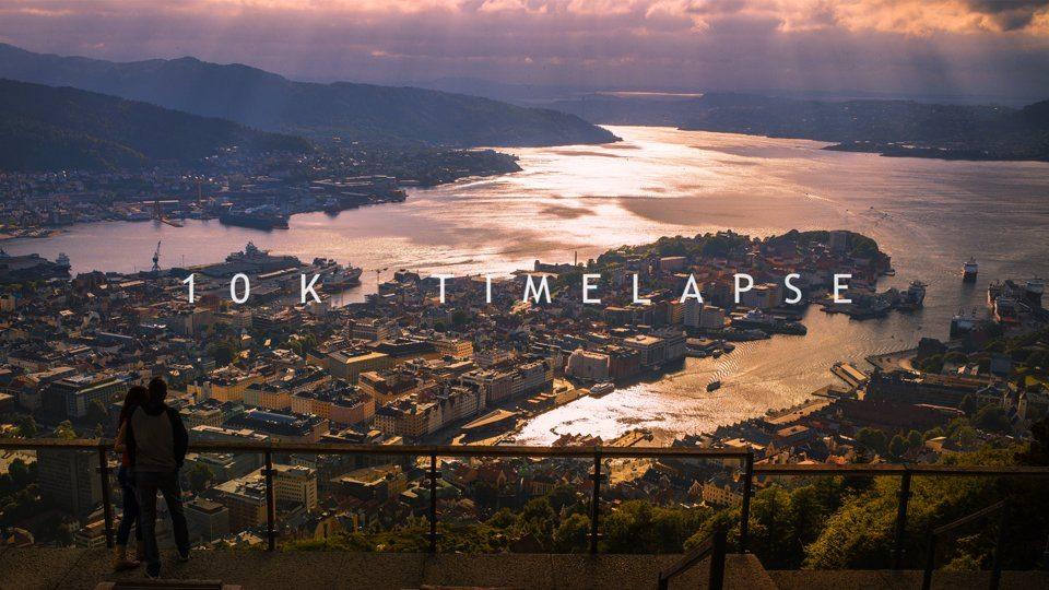 Timelapse 10K Auflösung in Norwegen