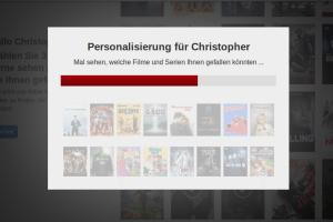 Netflix macht Vorschläge anhand deiner Bedürfnisse