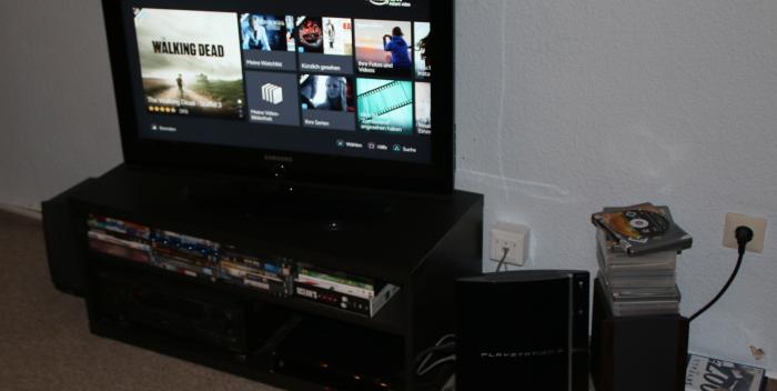 Amazon Instant Video auf der Playstation 3