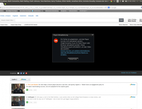 Amazon Instant Video kann jetzt auch Adobe Flash statt Silverlight