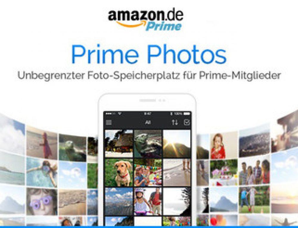 Amazons unbegrenzter Cloud-Speicher Prime Photos startet in Deutschland