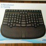 Tastatur im Karton