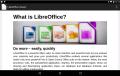 LibreOffice Viewer for Android erlaubt das Lesen von LibreOffice Dokumenten auf dem Smartphone