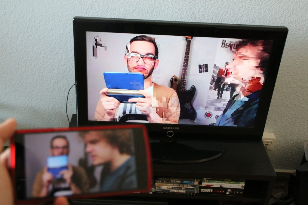Android-Miracast-Artefakte-Video