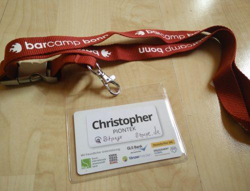 Das erste Barcamp in Bonn – es war super