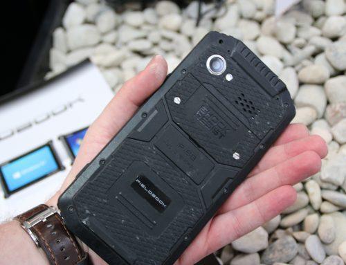 Cebit 2015 Nachlese: Militär Outdoor-Smartphone Fieldbook F1