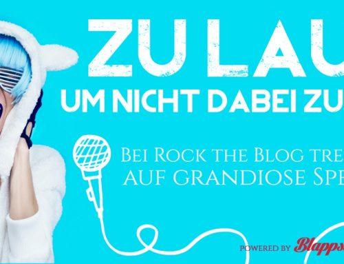 Komm zu Rock the Blog, dem CeBIT-Bloggerevent