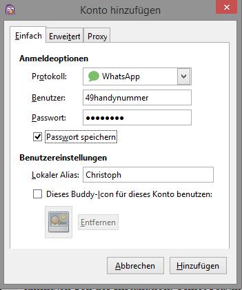 whatsapp-pidgin-einrichtung