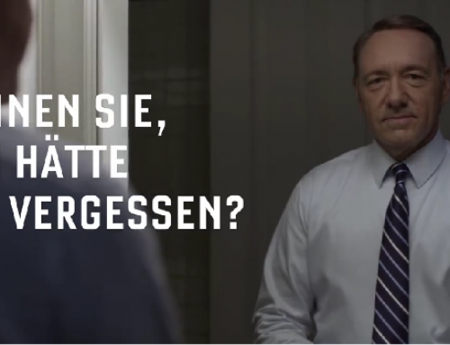 House of Cards Staffel 3 ab 28. August auf Netflix