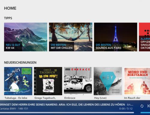 Aldi Life Musik: Geht auch auf Philips Streamium Geräten