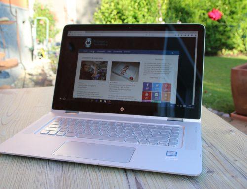 Das HP Spectre x360 15-ap006ng Convertible-Notebook im Test