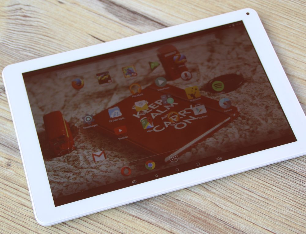 Android-Tablet MP Man MP100i im Test