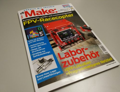 c't Make 5/16 gelesen: Lohnt sich das Maker-Magazin?