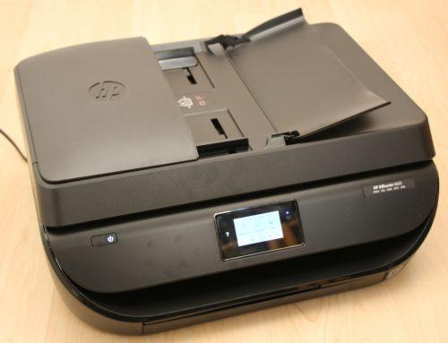 HP Officejet 4655 getestet: Eleganz und Funktion für Wenig-Druckende