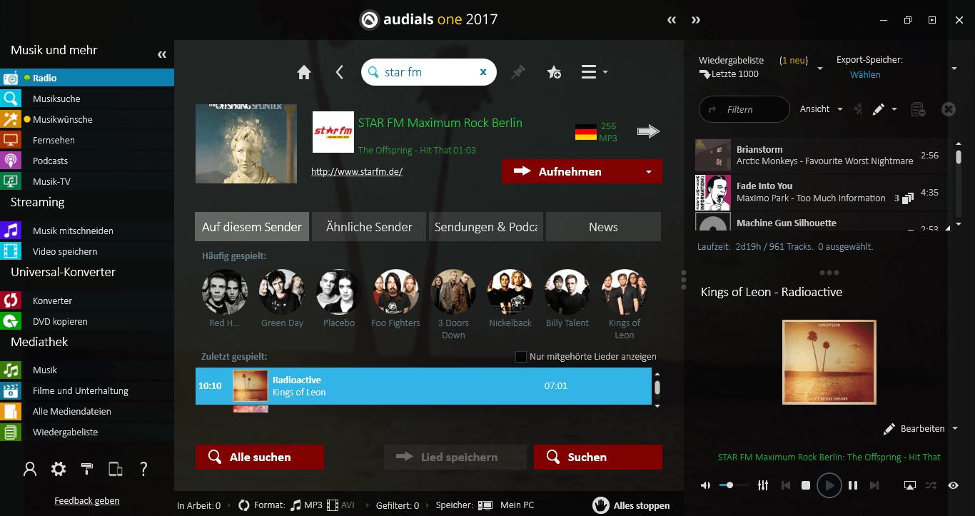 Audials 2017 – Noch schneller und einfacher zu Musik