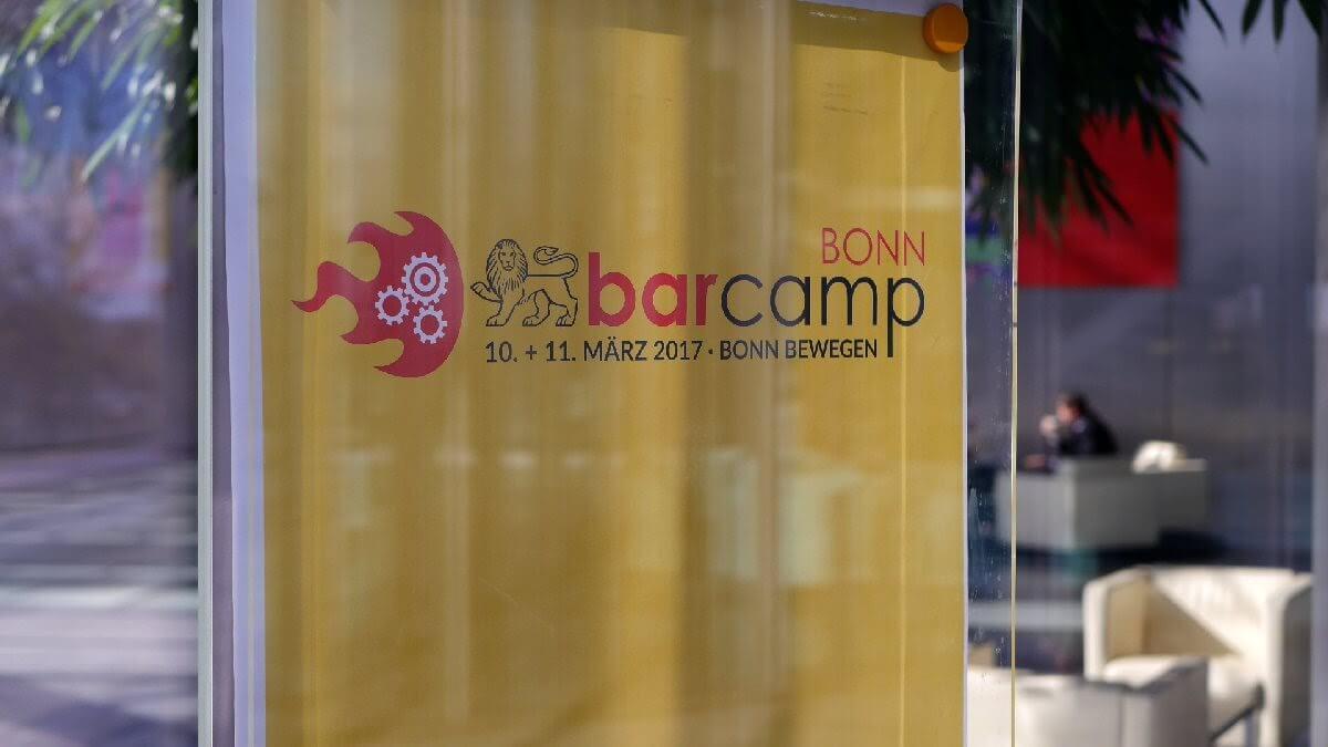 Barcamp Bonn 2017 mit IoT, Open Data und Streit bei der Deutschen Post