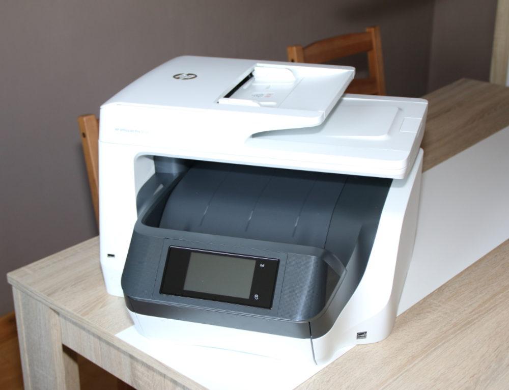 HP OfficeJet Pro 8720 Test: Schnell gedruckt und beidseitig gescannt